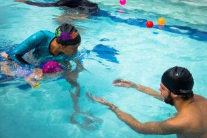 patos al agua - liga de natación de antioquia