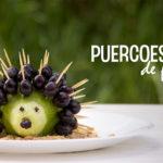 DIY | Recetas divertidas: Puercoespín con frutas